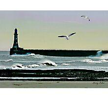Roker Pier, Sunderland. Photographic Print