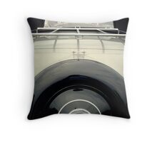 Female View at a Car Show- #14 Throw Pillow