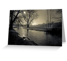 tranquility I Greeting Card