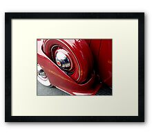 Female View at a Car show - 11 Framed Print