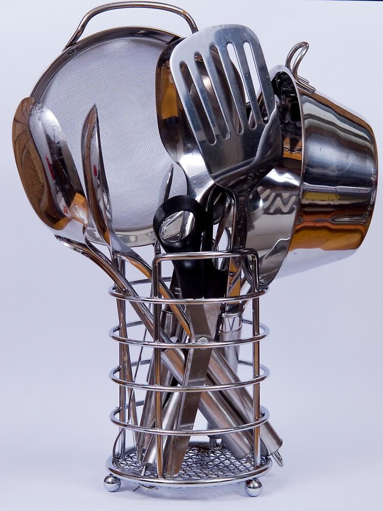 Cooking utensils by Alistair Balharrie