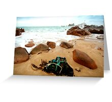 The lobster pot of Corbière Greeting Card