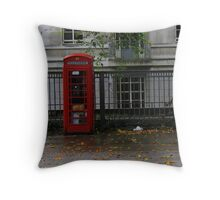 Selling England by the Pound Throw Pillow
