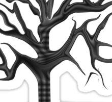 Black Tree Sticker