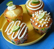 Lemon Lime Cupcakes by Rachel Valley