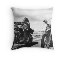 Easy Rider Throw Pillow