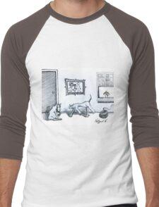 Happy Home  Men's Baseball ¾ T-Shirt