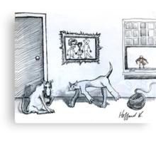 Happy Home Canvas Print