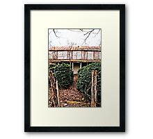Gated Community? Framed Print
