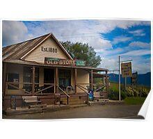 Kangaroo Valley Pie shop Poster