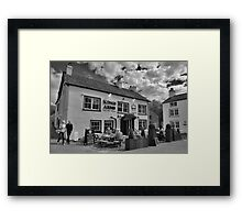 Kings Arms Cartmel Framed Print