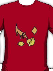 DOG ANFD LEMON ART  T-Shirt