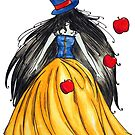 Who is the mad hatter ? Snow White   Blanche Neige  by studinano
