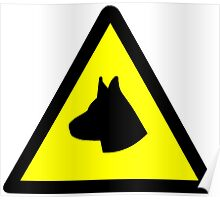 Guard Dog Symbol Poster