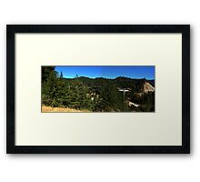 0776 - HDR Panorama - Bridge Deconstruction Framed Print