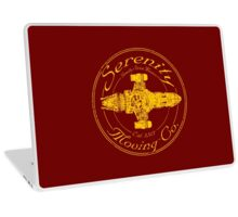 SERENITY MOVING CO.  Laptop Skin