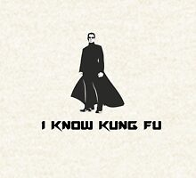 Matrix : I know Kung Fu Hoodie