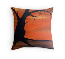 Mother Tree Throw Pillow