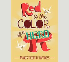 Red is The Color of a Hero Unisex T-Shirt