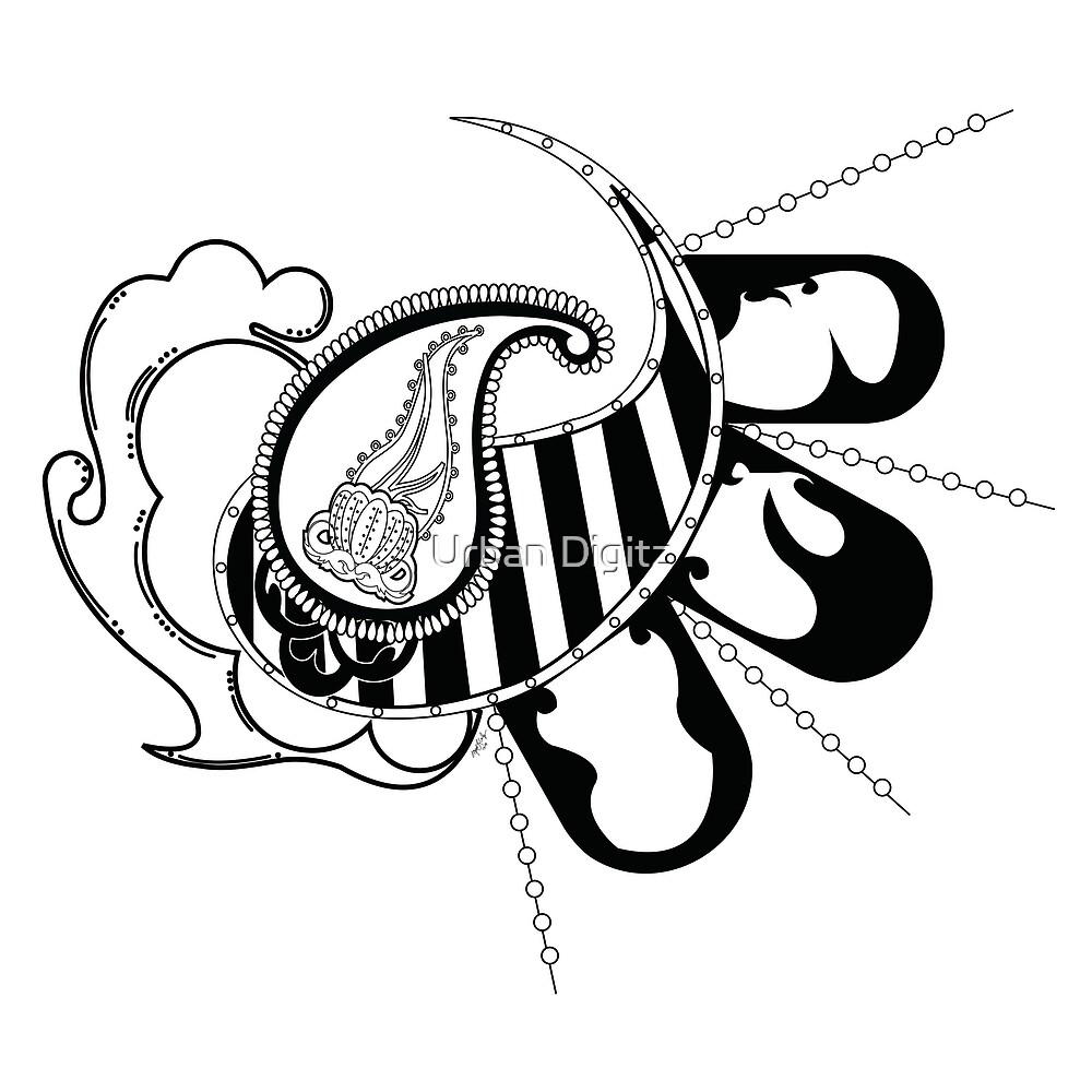 Paisley #4 by Urban Digitz
