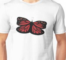 Colored butterfy Unisex T-Shirt