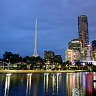 Yarra River reflection by jfpictures