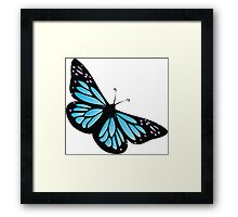 Colored butterfy 4 Framed Print