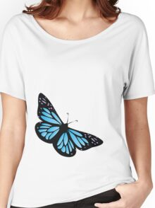Colored butterfy 4 Women's Relaxed Fit T-Shirt