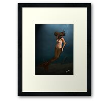 A Backward Look Framed Print