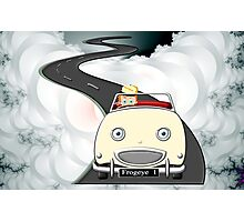 A Boys Dream to be a Racing Driver - all products bar duvet Photographic Print
