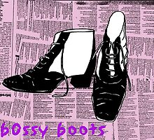 bossy boots by maryrouncefield