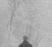 Winter Woods Sticker