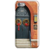 Parrish House, Annapolis MD iPhone Case/Skin