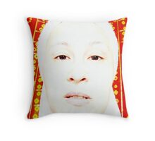 Model Behavior Throw Pillow