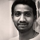 Indian Boy Hyderabad by Andrew  Makowiecki