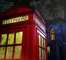 London Tardis by Jasna