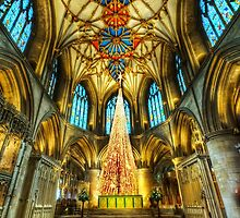 Tewkesbury At Christmas by Darren Wilkes