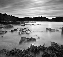 Turrimetta By Moonlight by Brent Pearson