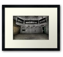 Overseeing Framed Print