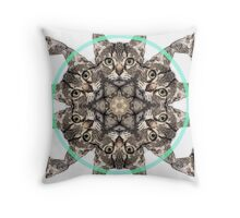 HypnocatV3 Throw Pillow