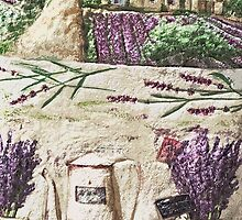 "Exclusive: "" The Extraordinary eternal Provence Lavender "" / My Creations Artistic Sculpture Relief fact Main 33  (c)(h) by Olao-Olavia / Okaio Créations by okaio caillaud olivier"