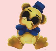 Chibi Golden Freddy Bear Kids Tee