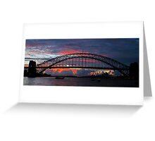 Turmoil - Sydney Harbour, Sydney Australia Greeting Card