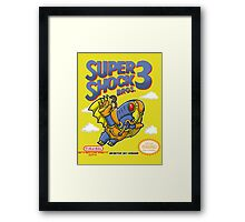 Super Shock Bros 3 Framed Print