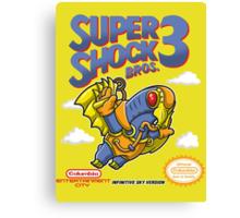Super Shock Bros 3 Canvas Print