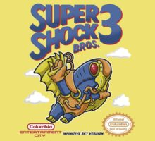 Super Shock Bros 3 Baby Tee