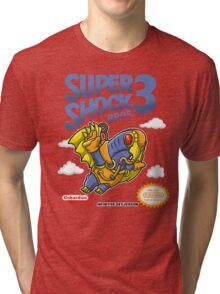 Super Shock Bros 3 Tri-blend T-Shirt