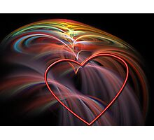 Big Love, Big Heart Photographic Print
