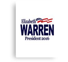 Warren 2016 Canvas Print