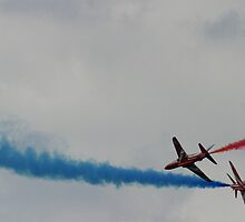 Red arrows 1 by Stuart Brown